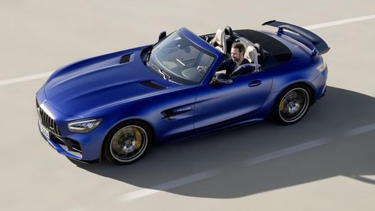 У суперкупе Mercedes-AMG GT R съехала крыша