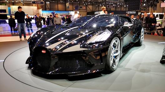Самый дорогой и самый черный Bugatti прочат самому известному футболисту