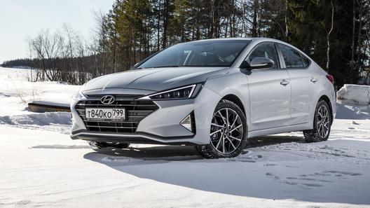 Объявлены российские цены на обновленную Hyundai Elantra