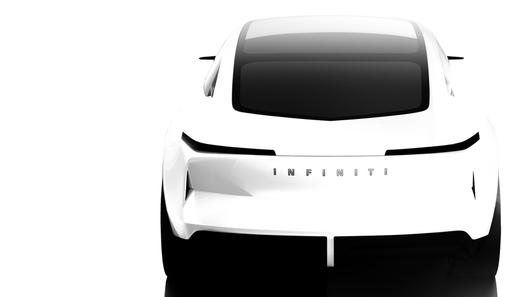 Infiniti представит новейший электрический спортседан