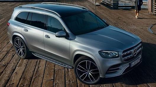 Новый внедорожник Mercedes-Benz GLS