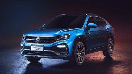 Состоялась премьера концептуального кросс-купе Volkswagen