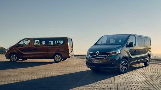 Renault обновила минивэны и фургоны Master и Traffic