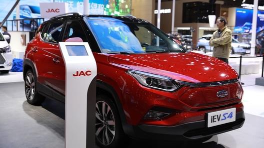 Марка JAC при участии Volkswagen запустила сверхэффективный электрокроссовер