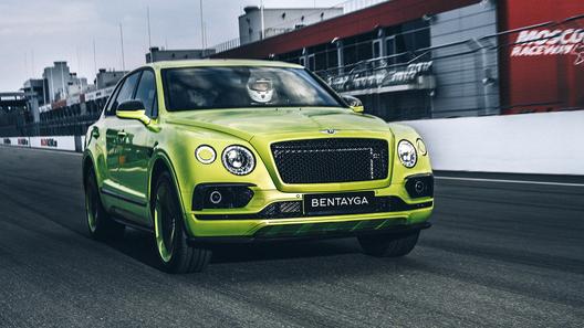 Единственный в своем роде Bentley Bentayga – в России. Других таких нет!