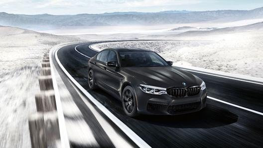 Юбилейный BMW M5 получил салон из золота
