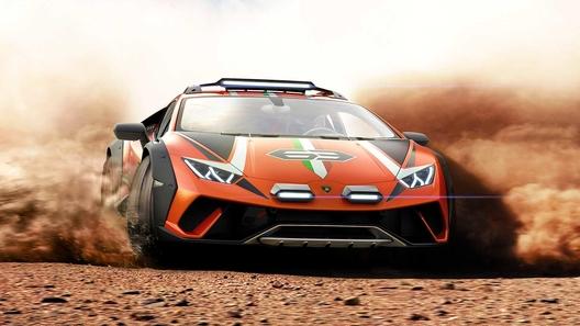 Lamborghini все же построила настоящий суперкар для бездорожья