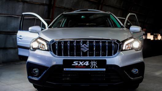 Объявлена цена на кроссовер Suzuki SX4 в уникальном исполнении для России