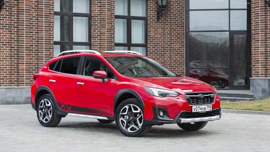Subaru анонсировала особую версию кроссовера XV для России