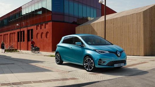 Renault основательно переработала электрокар Zoe