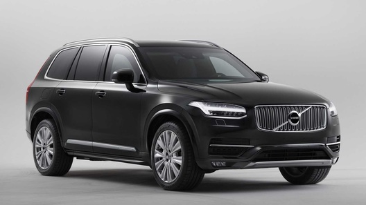 Volvo выкатила секретную бронированную версию XC90