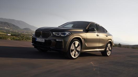 Новый BMW X6: уже известны цены и дата начала продаж в России
