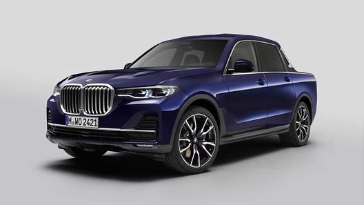 BMW X7 превратился в роскошный пикап – и это официально
