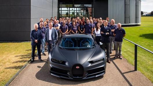 Bugatti выпустила 200-й Chiron и показала процесс производства гиперкара