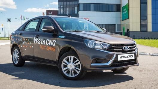 Дави на газ: все новые автомобили в России с заводским ГБО
