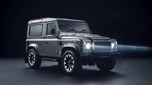 Land Rover магическими пассами осовременит старые