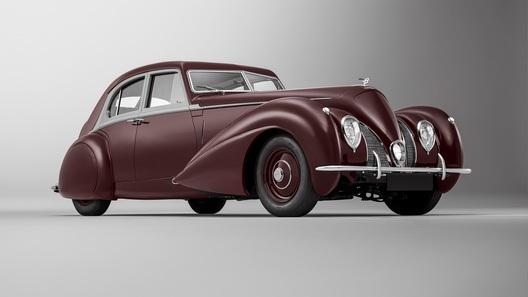 Ателье Mulliner восстановило очень редкий Bentley