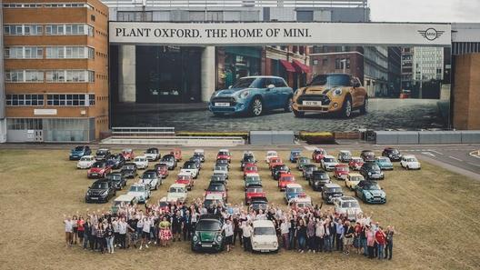 По оксфордскому счету: на свет появился 10-миллионный Mini