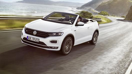 Volkswagen выпустил компактный кроссовер-кабриолет T-Roc