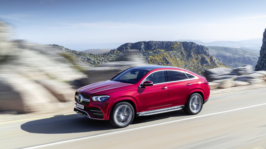 Mercedes-Benz представил свое самое крупное кросс-купе GLE