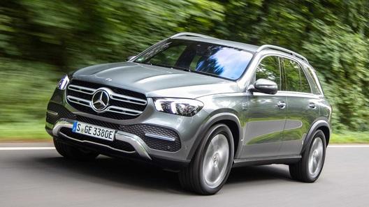 Кроссовер Mercedes-Benz GLE обзавелся дизель-электрической версией