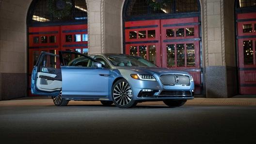 Lincoln придаст седану Continental эффектнейший вид, вернув