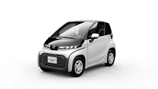 Toyota начнет выпускать микроавтомобиль размером с холодильник