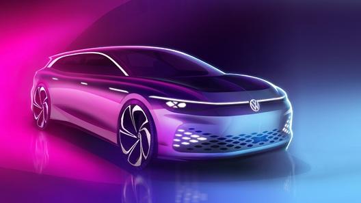 Volkswagen ID. Space Vizzion:  через два года – уже в продаже