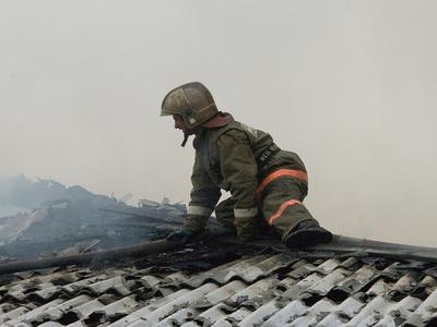 Огонь на крыше и густой дым: в Москве загорелась школа