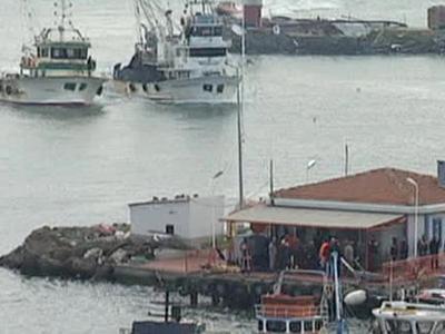 Транспортный коллапс на Босфоре: в проливе столкнулись два судна