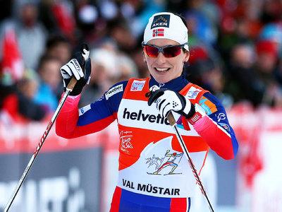 Лыжи. Норвежка Марит Бьорген – чемпионка мира в скиатлоне
