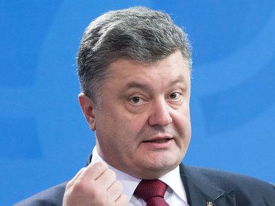 Порошенко поделил воздух над Донбассом по-новому