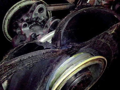 В Пицунде разбился легкомоторный самолет
