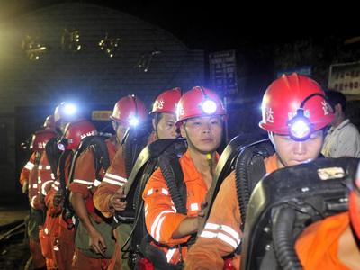 В Китае жертвами обрушения шахты стали 9 человек