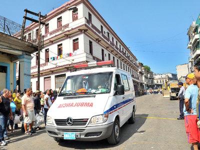 На Кубе столкнулись пассажирский и грузовой поезда, есть жертвы