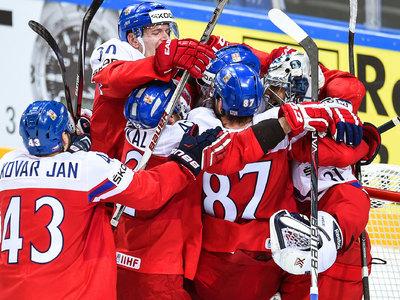 Хоккеисты сборной Чехии обыграли канадцев в Москве