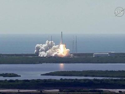 Ракета Falcon 9 взорвалась из-за заправки