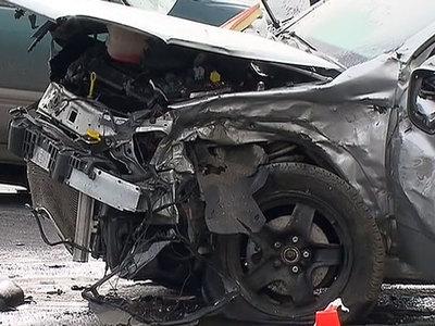 В Пермском крае иномарка врезалась в автобус: погибли три человека