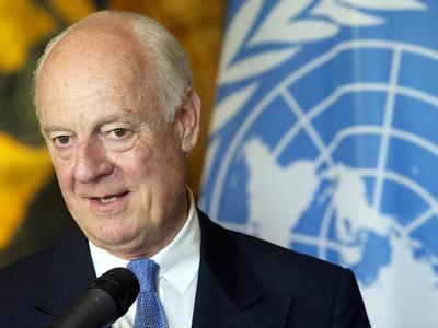 Переговоры по Сирии: в Астану прибыл де Мистура