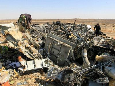 В Шарм-эль-Шейхе вспоминают погибших над Синаем