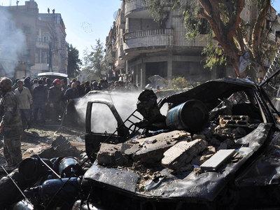 МИД РФ назвал теракт в Хомсе варварской акцией