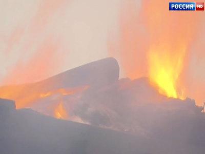В Волгоградской области в пожаре погибли два человека