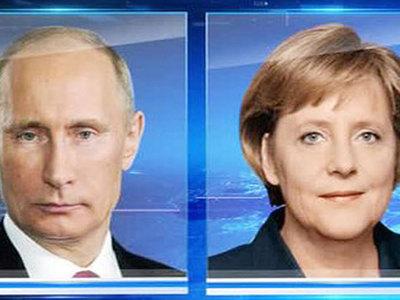 Путин побеседовал с Меркель о G20