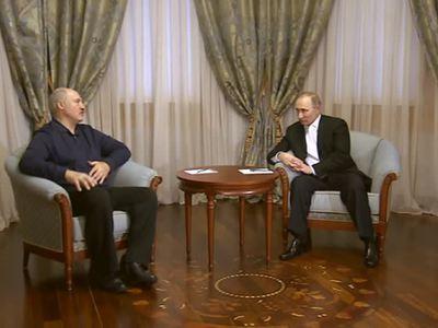 Лукашенко о Путине: мы родные братья, нам делить нечего