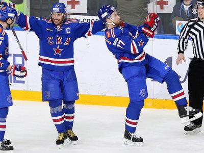 КХЛ. Три шайбы Ковальчука помогли СКА победить в Китае
