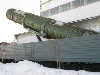"""В России испытали ракету для ядерного """"поезда-призрака"""""""
