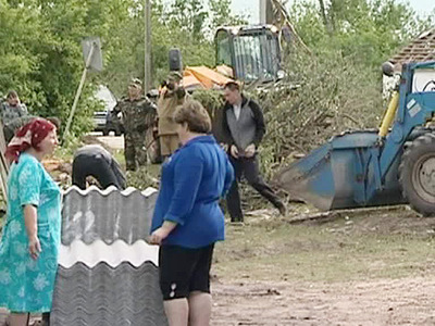 Пострадавшим от урагана в Ростовской области окажут помощь
