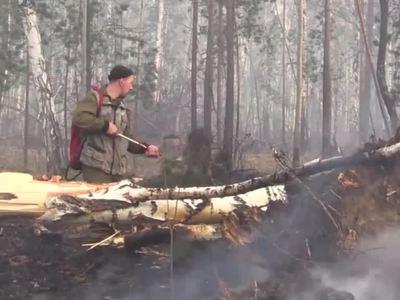 В Бурятии горит заповедник, огнём охвачено почти 50 гектаров леса