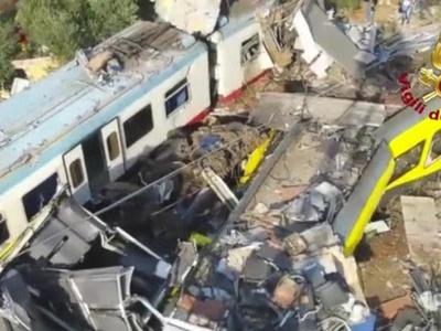Число жертв железнодорожной катастрофы в Италии выросло до 27