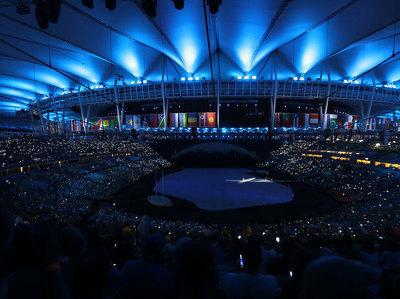 Церемония открытия Олимпиады-2016 началась в Рио-де-Жанейро